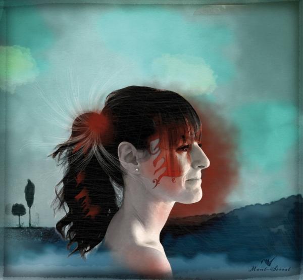 Ilustración retrato digital